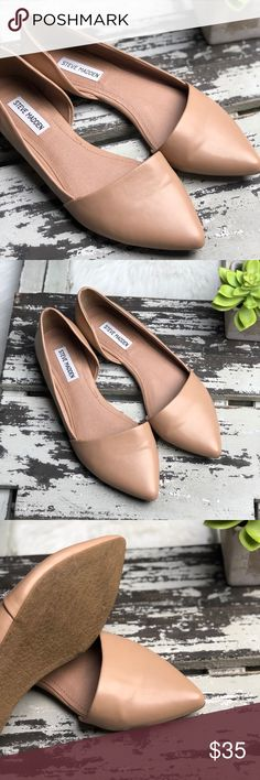 Steve Madden Sz 9 Kabool nude flats euc Sz 9 In great condition with very little wear. A classic addition to any closet. Steve Madden Shoes Flats & Loafers