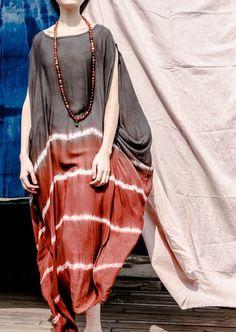 Women long tunic dress cotton blouse silk cotton dress long dress summer dress  large size dress plus size clothing maxi dress women dress 04388522cb98