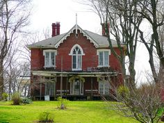c. 1860 Gothic Revival - Williamsport, IN - $84,900 - Old House Dreams