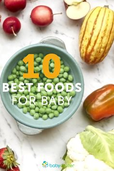 Great list of healthy super foods for your baby and how to include them in his diet. All these are vitamin-rich, reasonably priced, easy to prepare, and delicious.