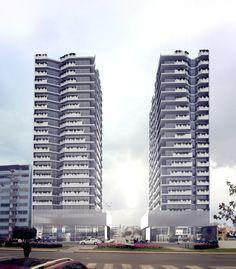 Flat Arequipa / Architectural Visualization. Skyscraper, Multi Story Building, 3d, Studio, Flat, Arequipa, Buildings, Architecture, Study