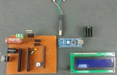Components Required for Battery Capacity Tester