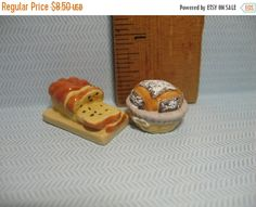 SALE Mini BREAD Loaf Breakfast Bakery Brioche Baker Baking  - French Feve Feves Porcelain Doll House Miniatures Figures CC34 by…