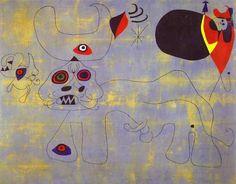 The Bull Fight, Joan Miro - WikiArt.org