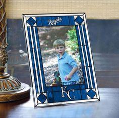 Kansas City Royals Art Glass Frame