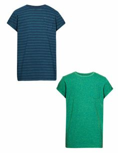 Med Blue Denim 2 Pack Assorted T-Shirts