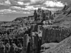 Title  Bryce Canyon In Black And White  Artist  Dan Sproul  Medium  Photograph - Digital