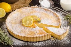 What's your favourite French dessert? I reckon a Tarte au Citron would have to be the favourite of many. These cakes are popular in France with many. French Cooking Recipes, Pastry Recipes, Tart Recipes, French Desserts, Lemon Desserts, Summer Desserts, Beef And Ale Pie, Short Pastry, Danish Dessert
