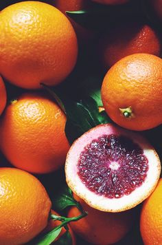 Blood Oranges ~ Mary Wald's Place -  So much inspiration at the Farmers Market. A delight to all of the senses. Photos by J. Blakeney
