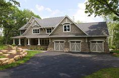 Hampton Cottage Style Home - traditional - exterior - minneapolis - Divine Custom Homes
