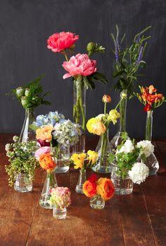 DIY-Idee: Blumen in Flaschen - Bloomy Blog | Blumentipps und mehr