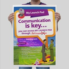 Simon Says The Learning Zone Poster