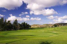 15th hole at Tierra Rejada Golf Club  453 yard par 4
