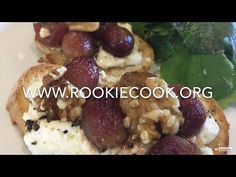 Goat& Cheese and Roast Grape Tartine - Rookie Cook Easy Healthy Recipes, Yummy Recipes, Easy Meals, Yummy Food, Hummus And Pita, Savoury Tarts, Crock Pot Slow Cooker, Mediterranean Recipes, Goat Cheese