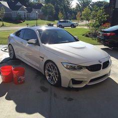 BMW - beautiful car, great hoops too!