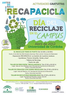 Universidad de Córdoba: Campaña de reciclaxe no campus