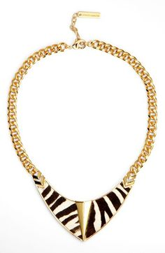 Wild is nice! Vince Camuto 'Call of the Wild' Bib Necklace (Nordstrom Exclusive) available at #Nordstrom