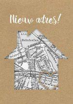 Zo'n landkaart is erg geschikt een verhuiskaart van te maken*** Weet je meteen waar je heen moet!*** LOL*** Tower House, Bullet Journal, Crafty, Deco, Craft Ideas, Homes, Image, Cards, Paper