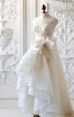 #<3<3  #Fashion #New #Nice #Beauty #WeddingDress  www.2dayslook.com