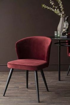 Leather, Fabric and Wooden Dining Chairs | Rockett St George Wooden Dining Chairs, Dining Room Furniture, Table And Chairs, Upholstered Swivel Chairs, Elegant Dining, Cafe Chairs, Diy Chair, Occasional Chairs, Modern Interior