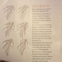 For a double whammy French braid hairstyle! In my entire span of existence, I have never been able to do a French braid.
