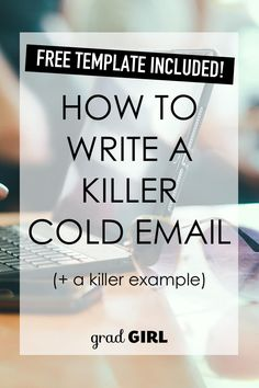 If the idea of talking to strangers on the phone makes you nervous, try this cold email strategy. Fewer nerves, more results.