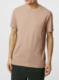 Stucco Brown Slim Fit T-Shirt