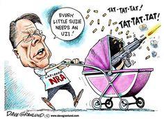 NRA: Every kid needs an UZI