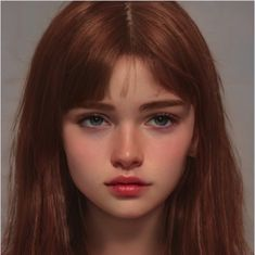 Digital Art Girl, Digital Portrait, Cartoon Girl Drawing, Girl Cartoon, Ginger Person, Red Hair Green Eyes, Avengers Outfits, Dancing Drawings, Ginger Girls