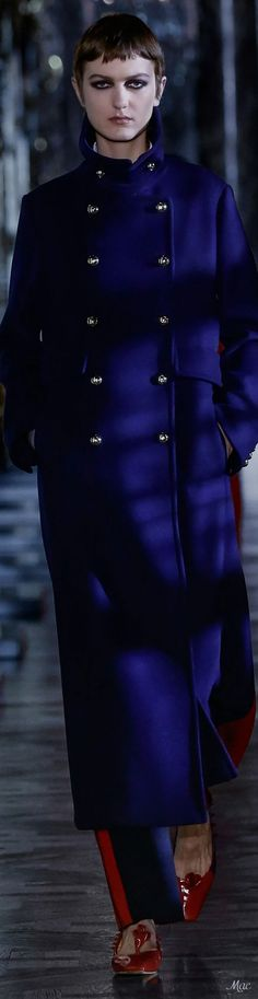 Fall 2021 RTW Christian Dior Weather Wind, Dior Fashion, Christian Dior, Coats, Fall, Blue, Design, Autumn, Wraps