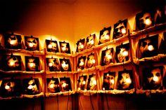 christian boltanski portraits/installation