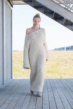 Mohair, piss and much more. Wool Dress, Knit Dress, Big Knits, Crochet Wool, Angora Sweater, House Dress, Vintage Sweaters, Beautiful Crochet, Cardigans For Women