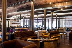 Lighting Design Projects: Titanic Hotel Liverpool  #lightingprojects #designprojects #interiordesign #lighting