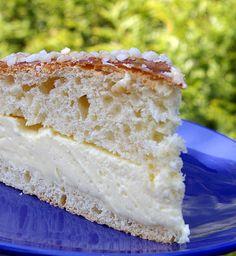 La tarte tropézienne. (http://www.amusesbouche.fr/article-52824420.html)