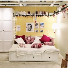 Ikea Christmas decoration. Hemnes Daybed