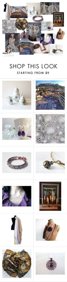"""""""Angels"""" by kikisan-studio ❤ liked on Polyvore featuring Anja"""