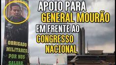 GENERAL MOURÃO E PATRIOTAS EM BRASÍLIA - INTERVENÇÃO MILITAR