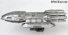 Battlestar Galactica: Pegasus - Metal Finish Spaceship, Fertig-Modell, http://spaceart.de/produkte/bsg015.php