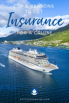 Wait, you don't purchase travel insurance? Then you need to read our top 6 reasons to get travel insurance for a cruise. Always ensure you are prepared. Packing List For Cruise, Cruise Tips, Cruise Travel, Cruise Vacation, Cruise Excursions, Cruise Destinations, Travel Money, Travel Tips, Cruise Ship Reviews