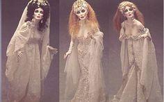 giocattoli horror bambole realizzate da Paul Crees le mogli di Dracula