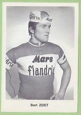 Bart Zoet. Coureur Cycliste, cyclisme. Mars Flandria