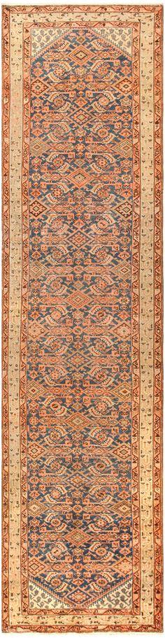 Antique Persian Malayer Runner 50162