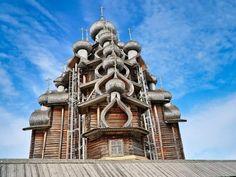 Russia's Transfiguration Church (in Kizhi Pogost)