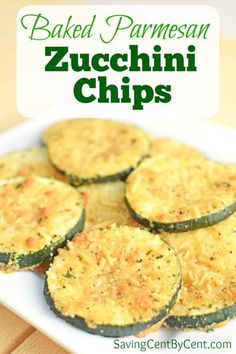 These Baked Parmesan Zucchini Chips are easy to make and taste delicious. And they make a great side dish to a summer dinner. // Baked zucchini chips // Parmesan zucchini chips // How to make zucchini chips // Oven zucchini chips // #zucchini #parmesanzucchini Parmesan Zucchini Bites, Easy Zucchini Bread, Zucchini Chips Recipe, Easy Zucchini Recipes, Bake Zucchini, Easy Cooking, Cooking Recipes, Easy Family Dinners, Side Dishes Easy