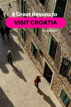 Croatia in winter is a land of ancient palaces, energetic cities and epic views along the shore.