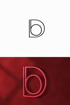 "I like the idea of integrating a letter into another. However, I feel that this letter mark is way too simple (even when it's in color). Also I think the way that the ""b"" is inside of the ""D"" looks awkward and I don't like how it is barely touching the edge while leaving some space."