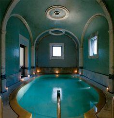 Natural Tuscan spa