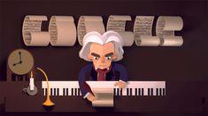 245 cumpleaños de Ludwing Van Beethoven.