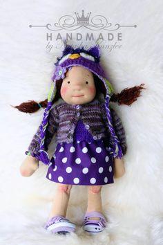 Anita 18 inch Waldorf Steiner doll by Natasha by OceanIdeas, $420.00