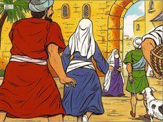 Jésus à 12 ans se rend au temple : BD, caté et vidéo